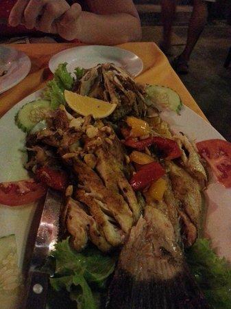 Islandish Seafood Restaurant: BBQ Siakap Fish