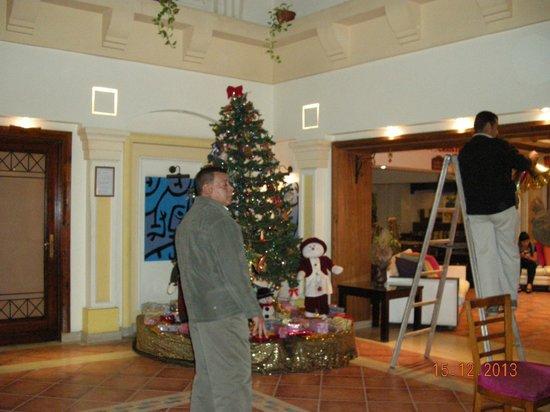 Mexicana Sharm Resort : Så bliver der klargjort til julen