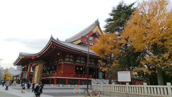 Nakamise Shopping Street (Kaminarimon): Senjoji's Temple