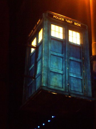 Blackpool Illuminations: That iconic very British piece of TV history.Dr.Who's TARDIS in the 2013 illuminations.