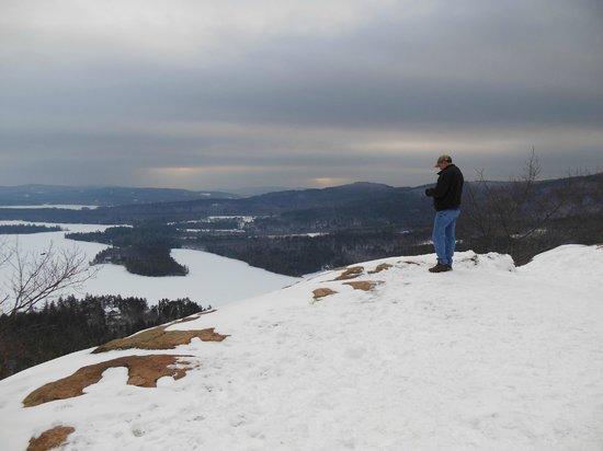 West Rattlesnake Mountain: summit