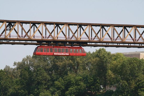 Mud Island River Park : Monorail (fee charged)