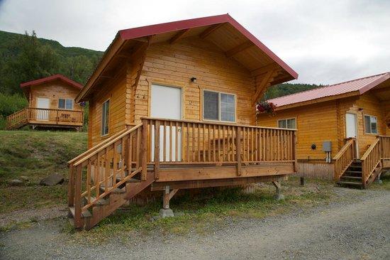 Knik River Lodge: hut - buitenaanzicht
