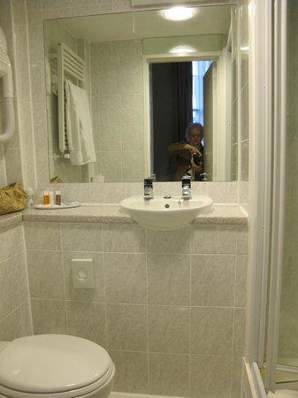 The Darlington Hyde Park: Single room 101 bathroom