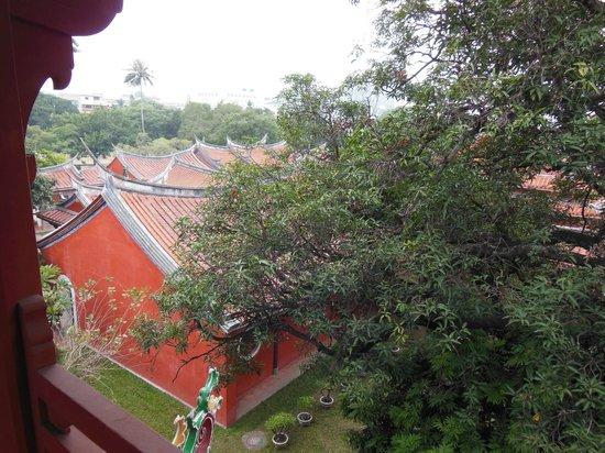 Confucius Temple : 楼上からの眺め