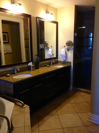 Wyndham Vacation Resorts Great Smokies Lodge : Master bathroom