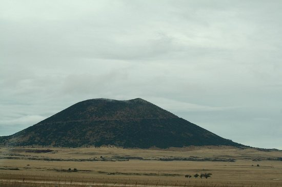 Capulin Volcano National Monument: View from the highway