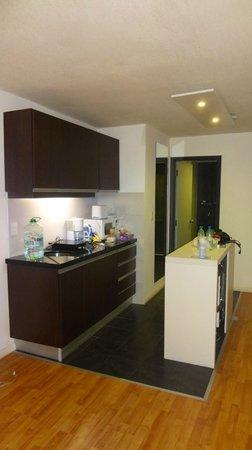 Massini Suites : Cozinha equipada com tudo