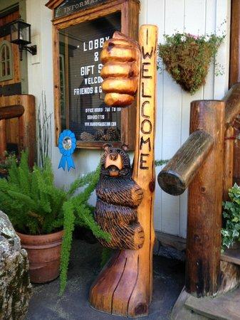 Narrow Gauge Inn: The Welcome!