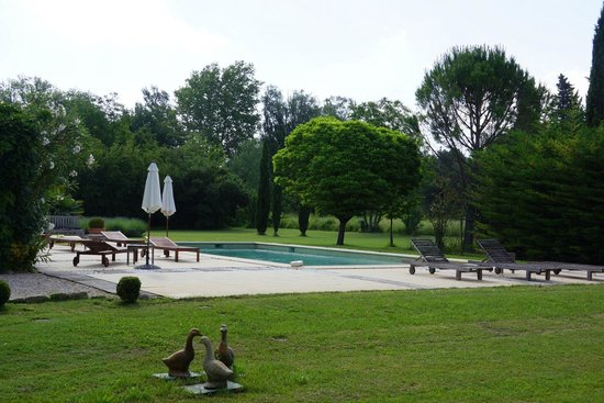 Côté Provence : The pool