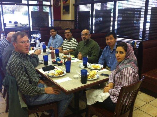 Sarah's Kabob Shop: Our Customer gathering