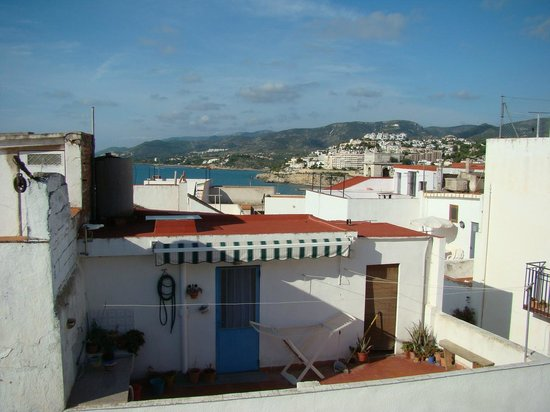 Dios Esta Bien: View from roof terrace