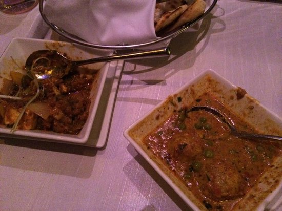 Bombay Brasserie: Main course
