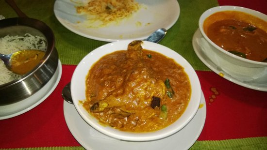 Masala Fort : Chicken curry