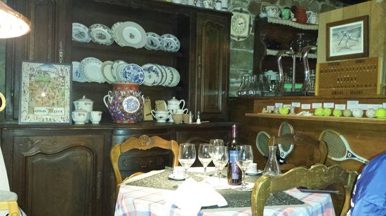 La table gourmande : Déco grand mère charmante !!