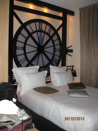 Hôtel Design Secret de Paris : lit