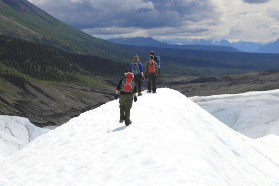 St. Elias Alpine Guides: uitzicht op heuveltop