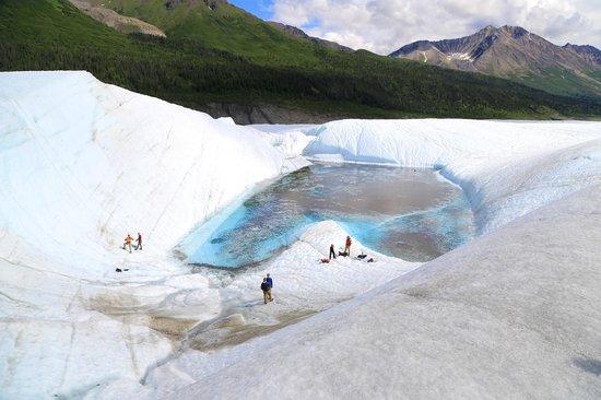 St. Elias Alpine Guides: gletsjermeer