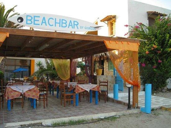 Taverna kastri il beach bar durante il giorno picture of for Kos milano ristorante