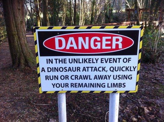 Robin Hill Country Park : Shut again