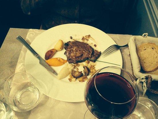 La Ciboulette : Ciboulette : foie de veau et ses petits légumes