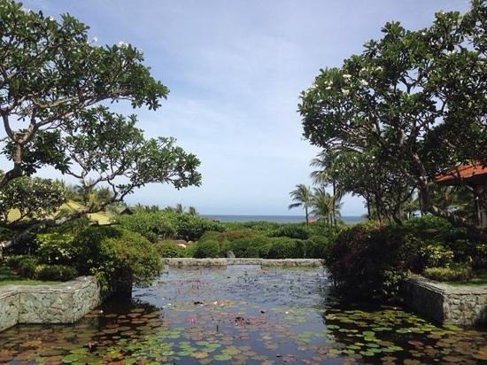 Grand Hyatt Bali : view fromt he lobby