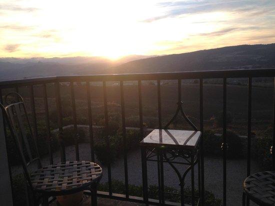 Arriadh Hotel : uitzicht vanaf balkon