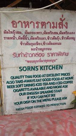 Chalawan Kitchen: Sorn's Kitchen Pledge