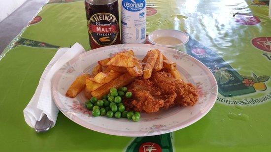 Chalawan Kitchen: Fish and chips