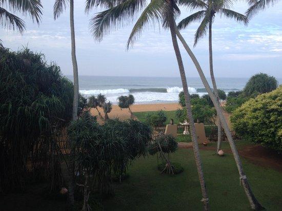 Aditya: Balcony view from Mitra suite