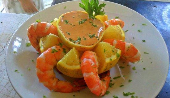 Nivel Mar Beach Club & Restaurant: Shrimp Cocktail