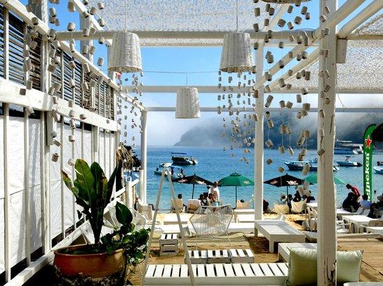 Nivel Mar Beach Club & Restaurant: Morning Fog