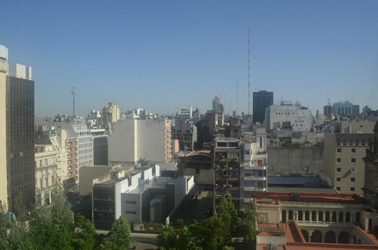 InterContinental Hotel Buenos Aires : View from the 10th floor, Ok not the greatest of views but 1st class hotel