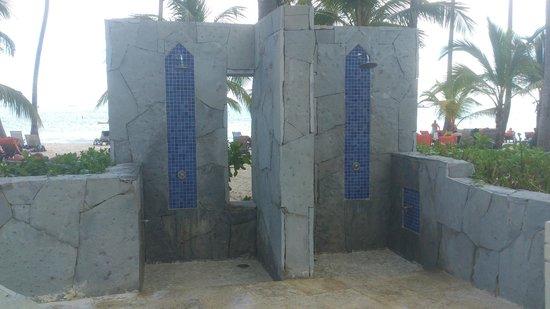 Barcelo Bavaro Beach - Adults Only: même la douche de la plage est design