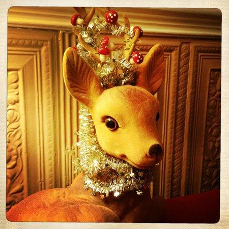 Arosfa Hotel : A christmassy welcome.