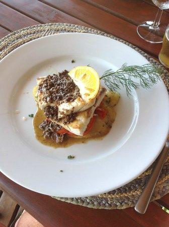 Antsanitia Resort: plat du jour