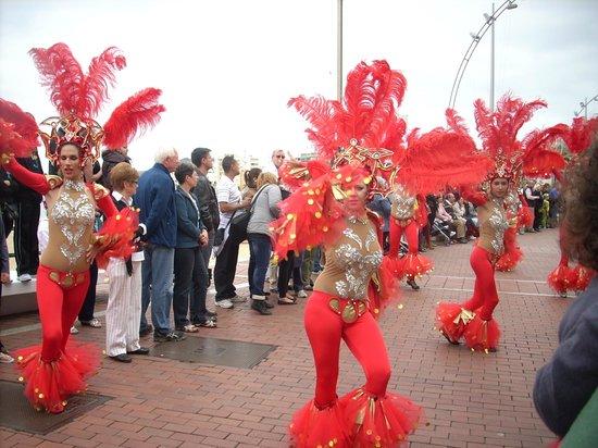 Playa de Las Canteras : carnaval