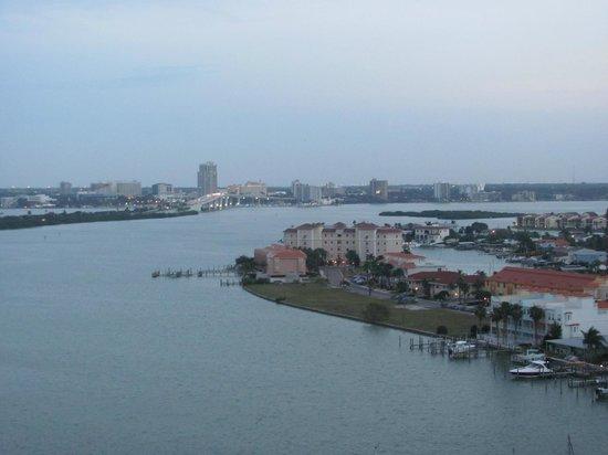 Hyatt Regency Clearwater Beach Resort & Spa: View from the hotel