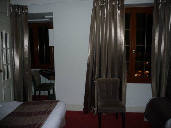 Hotel la Diligence : chambre