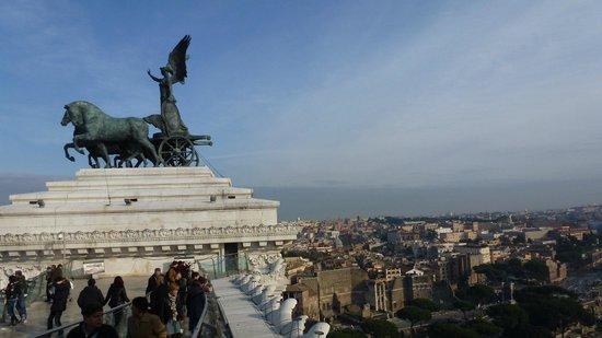 Roma dal Cielo   Terrazza delle Quadrighe: TERRAZZA 1