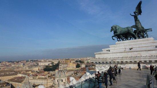 Roma dal Cielo   Terrazza delle Quadrighe: TERRAZZA 3