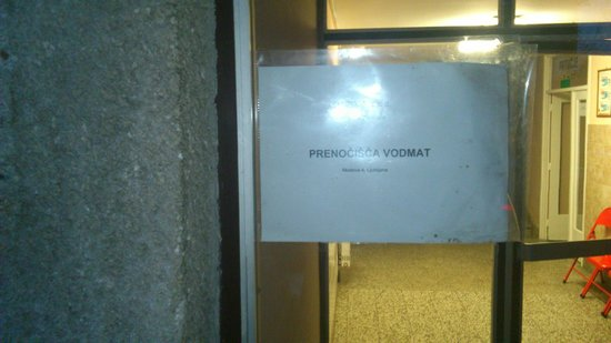 Budget Rooms Vodmat: Name in Slovenian