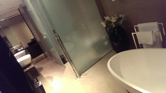 Melia Dubai Hotel : Bathroom