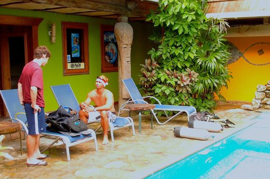 Tranquilseas Eco Lodge and Dive Center: PADI OPEN WATER in progress