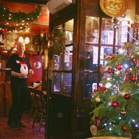 Christmas at the Turks head Penzance nice Xmas jumper Jon - Picture ...