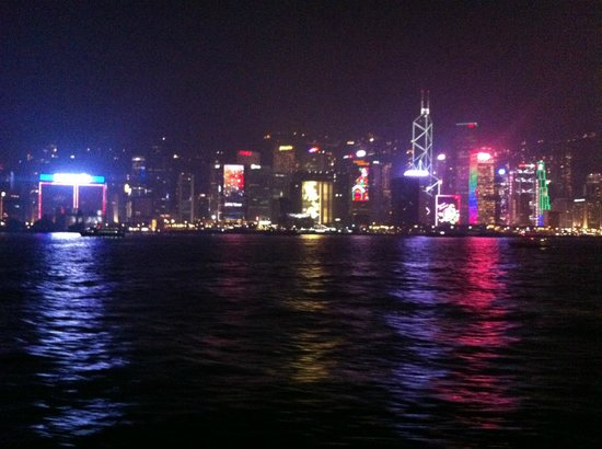 Gray Line Tours of Hong Kong: Night Star Ferry ride