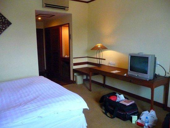 Mercure Vientiane: Vom Fenster zum Eingang