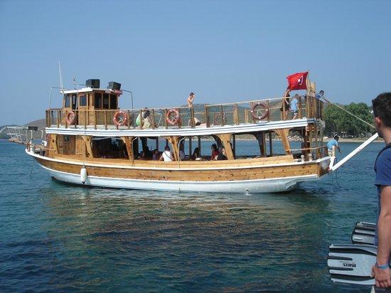 Club Resort Atlantis: bateau de la mini croisière