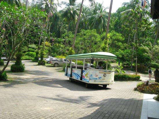 Sea View Resort & Spa Koh Chang: Шатл
