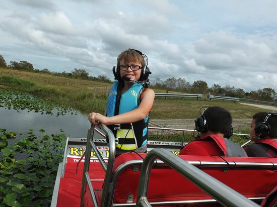 Gator Bait Airboat Adventures: Our Youngest Enviornmentalist